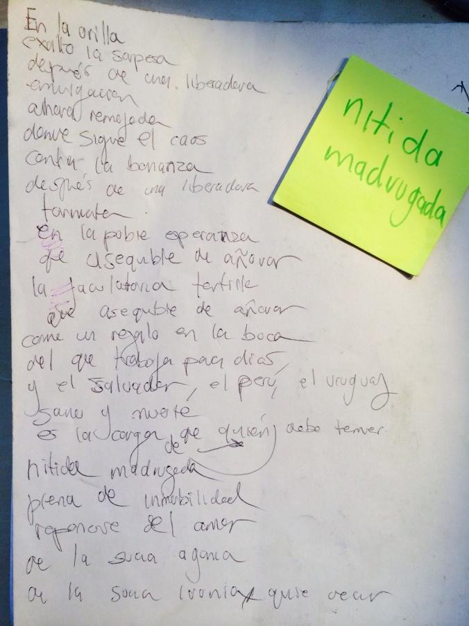NÍTIDA MADRUGADA